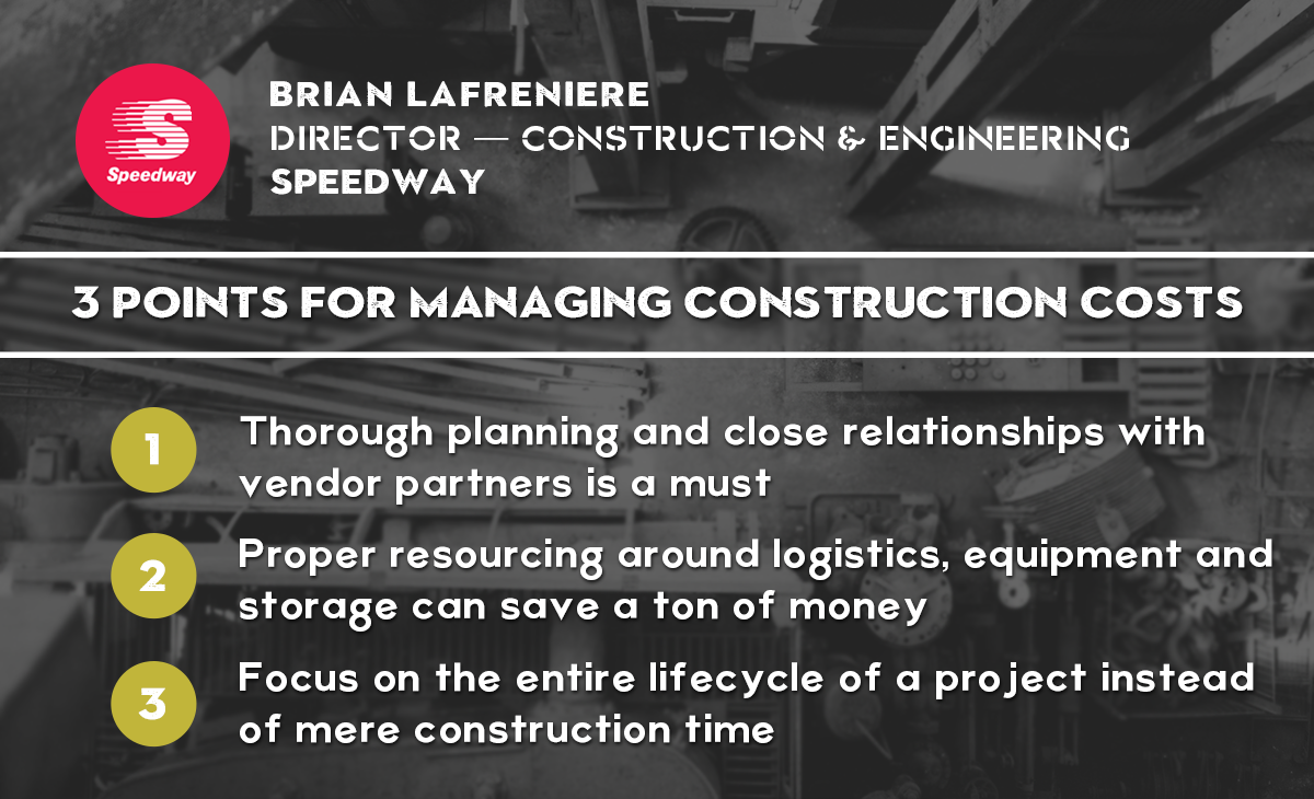 RetailSpaces - Brian LaFreniere  - 3 Points for Managing Construction Costs