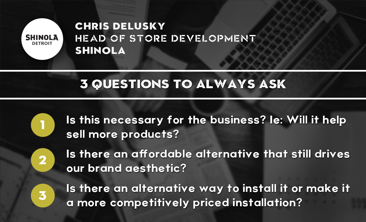 RetailSpaces - Chris Delusky - 3 Questions to Always Ask