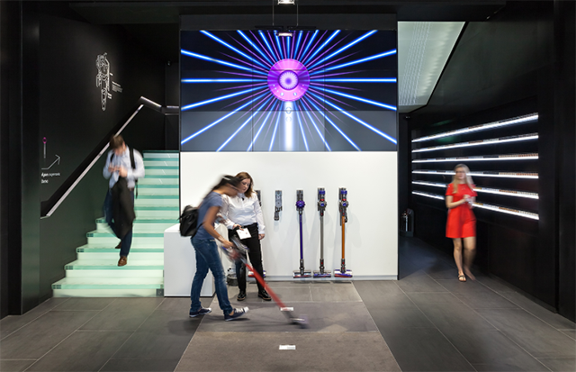 Dyson unveils a futuristic flagship on Fifth Avenue in NYC