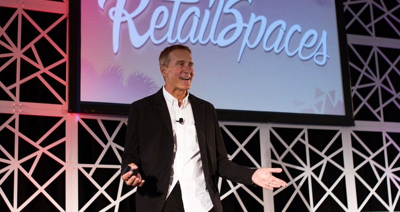 Lee Peterson predicts the future of retail at RetailSpaces; online purchases will take over those made in-store.