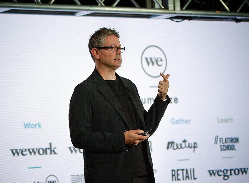 RetailSpaces Mick McConnell WeWork