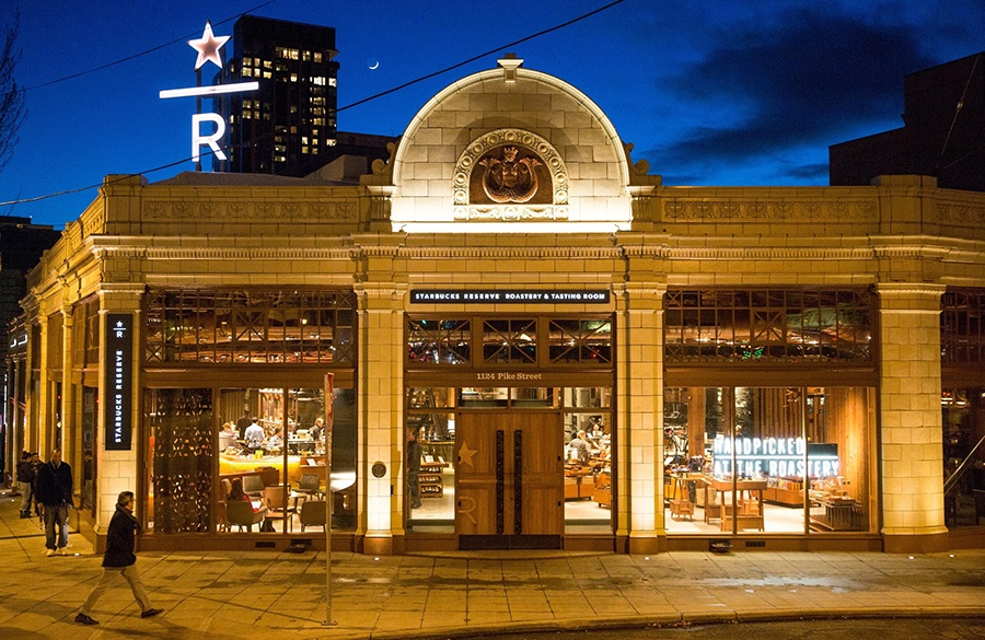 RetailSpaces Starbucks Reserve Seattle